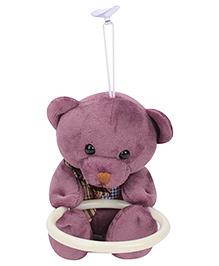 Teddy Bear Napkin Hanger - Purple