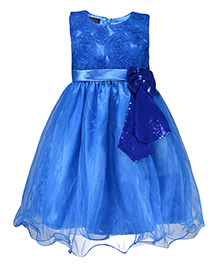 Pspeaches Attractive Party Dress - Blue