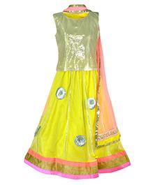 Pspeaches Attractive Lengha Choli - Yellow