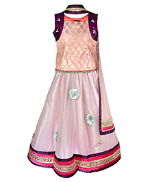 Pspeaches Attractive Lengha Choli - Multicolour