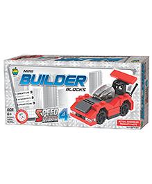Apple Fun Mini Builder Blocks Speed Racer 4 - 53 Pieces