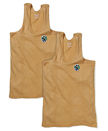 Ben 10 Sleeveless Vests Pack of 2 - Light Brown