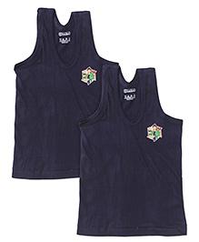 Ben 10 Sleeveless Set Of 2 Vests - Navy