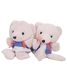 Curtain Holder Teddy Soft Toy - Light Pink - 847564