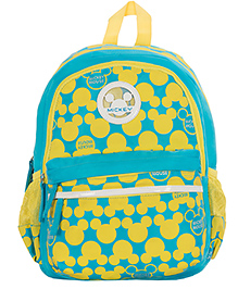 Safari Bags Mickey Mouse Topsy Turvy Print Backpack - 15 inches