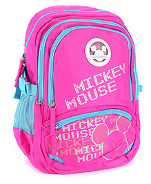 Safari Bags Mickey Mouse School Backpack Pink - 17 inches