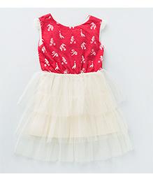 MilkTeeth Acrobat Dress - Deep Red