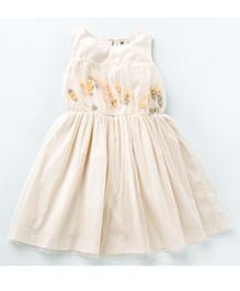 MilkTeeth Juggling Ball Dress - Off White
