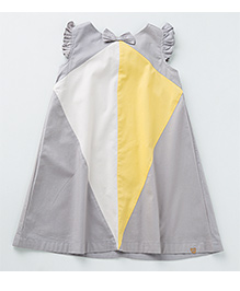 MilkTeeth Ringmaster Dress - Light Grey