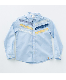 MilkTeeth Joey Shirt - Light Blue