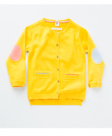 MilkTeeth Alfalfa Cardigan - Yellow