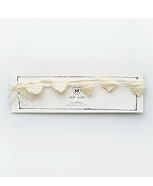MilkTeeth Bunting Belt - Off White