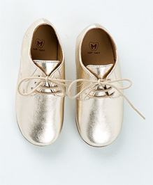 MilkTeeth Unisex Oxford Shoes - Golden