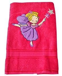 Sweet Somethings By Swati Fairy Princess Bath Towel - Magenta