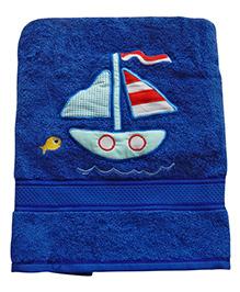 Sweet Somethings By Swati Sail Away Bath Towel - Royal Blue