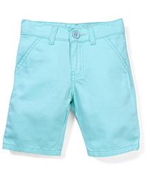 Babyhug Jamaican Plain Jeans - Aqua
