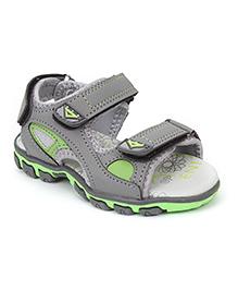 Cute Walk by Babyhug Floater Sandals - Grey