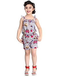 N-XT Singlet Jumpsuit Multiprint - Grey
