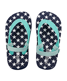 Flipside Murphy Flip Flops With Back Straps - Blue