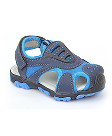 Cute Walk by Babyhug Floater Sandals - Navy