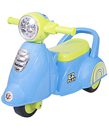 EZ' Playmates Baby Ride On Italian Scooter - Blue