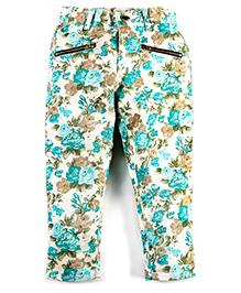 Cherry Crumble California All-Over Jeans - Multicolour