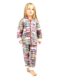 Cherry Crumble California Comfy Night Suit - Bubble Gum Pink