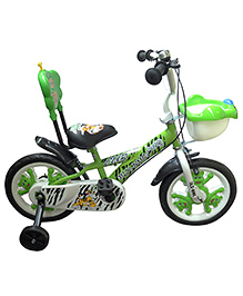 HLX-NMC Bicycle 14 Cub - Green And White