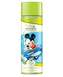 Baby Biotique Mickey Mouse Bio Green Apple Tearproof Shampoo 190 Ml