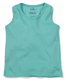 Babyhug Solid Color Racer Back Slip - Green