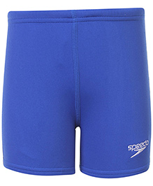 Speedo Logo Print Swimming Trunks - Royal Blue
