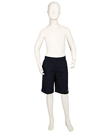 Speedo Plain Solid Color Swimming Trunks - Navy