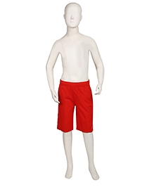 Speedo Plain Solid Color Swimming Trunks - Blue