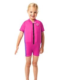 Speedo Sea Squad Float Suit - Pink & Purple