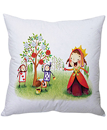 Stybuzz Roses Cushion Cover - White