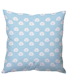 Cushion Happy Clouds Cushion Cover - Blue