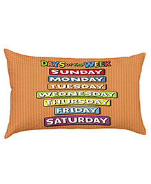 Stybuzz Days Of The Week Baby Pillow