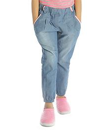 My Lil'Berry Plain Denim Pants - Light Blue