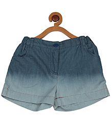 My Lil'Berry Ombre Denim Shorts - Blue