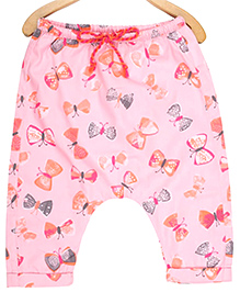 My Lil' Berry Pajama Butterfly Print - Pink
