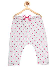 My Lil' Berry Pajama Polka Dots Print - Grey