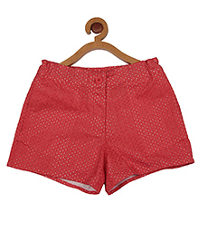 My Lil' Berry Shorts Hakoba Work - Red
