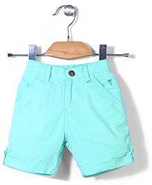 Palm Tree Shorts - Sea Green