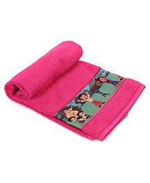 Chhota Bheem Bath Towel - Pink