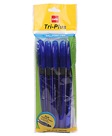 Cello Tri Plus Ballpoint Pen - Blue