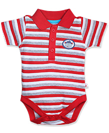FS Mini Klub  Short Sleeves Onesie - Red