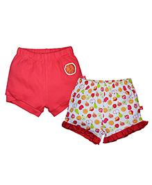 FS Mini Klub Shorts Set of 2 - Red
