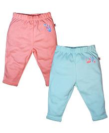 FS Mini Klub Pant Set of 2 - Blue And Peach