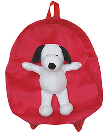Soft Buddies Snoopy Soft Toy Bag - Pink