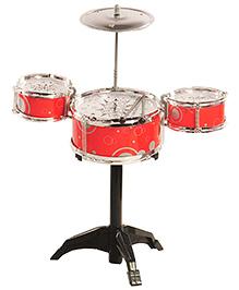 Magic Pitara Jazz Drum Set - Red